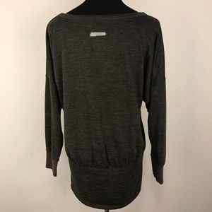 Athleta Sweaters - ATHLETA | Batwing and Robin Pullover Green Large